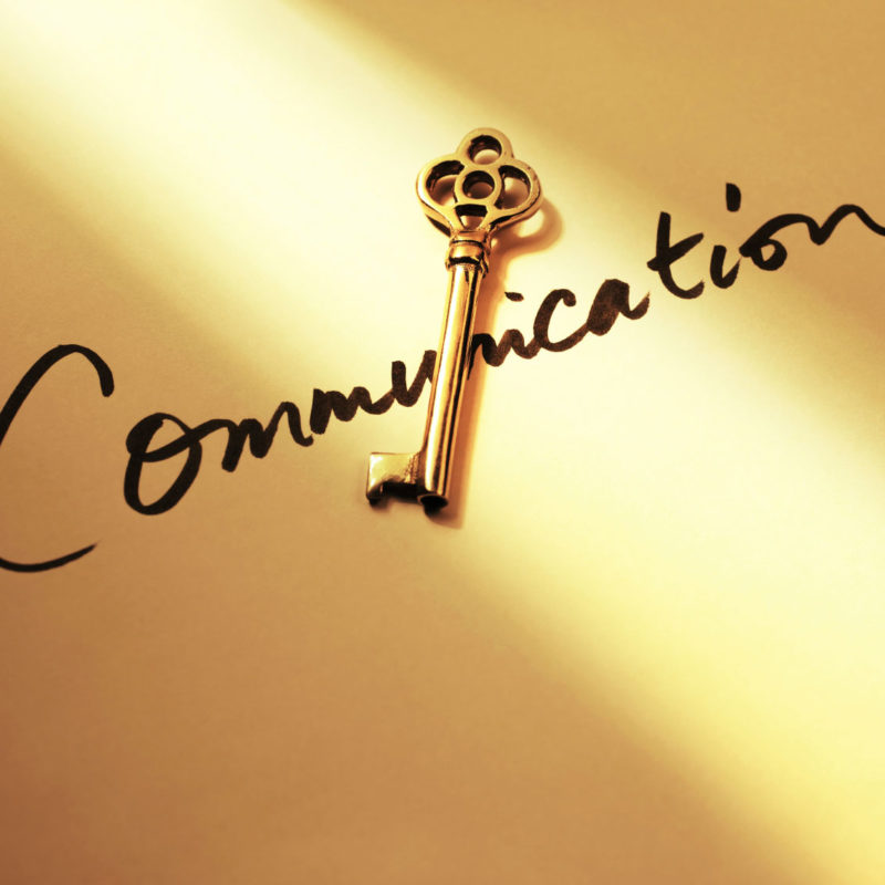 Communication as a Major Key to Success!