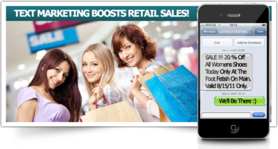 SMSMarketing for Retail Sales