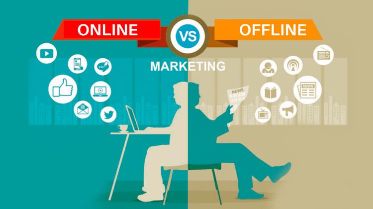 Online Marketing Vs Offline Marketing
