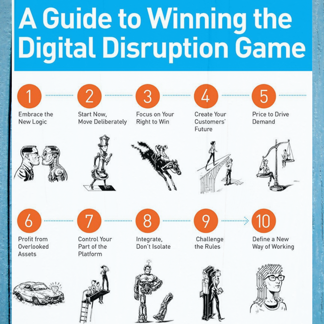 Technology Management Image: A Guide To Winning The Digital Disruption Game